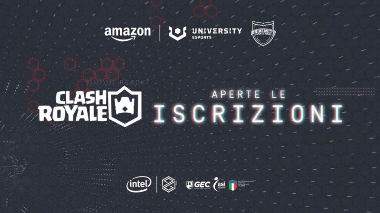 Iscrizioni aperte al Torneo Clash Royale di Amazon University eSport