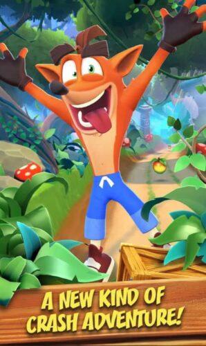 Crash Bandicoot Mobile è in pre-registrazione e soft-launch in paesi selezionati