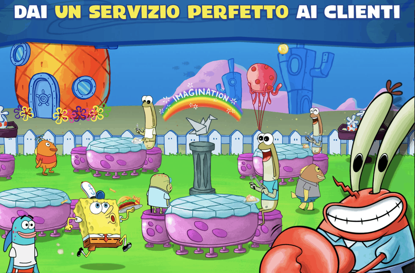 SpongeBob Sfida al Krusty è ora disponibile per Android e iOS