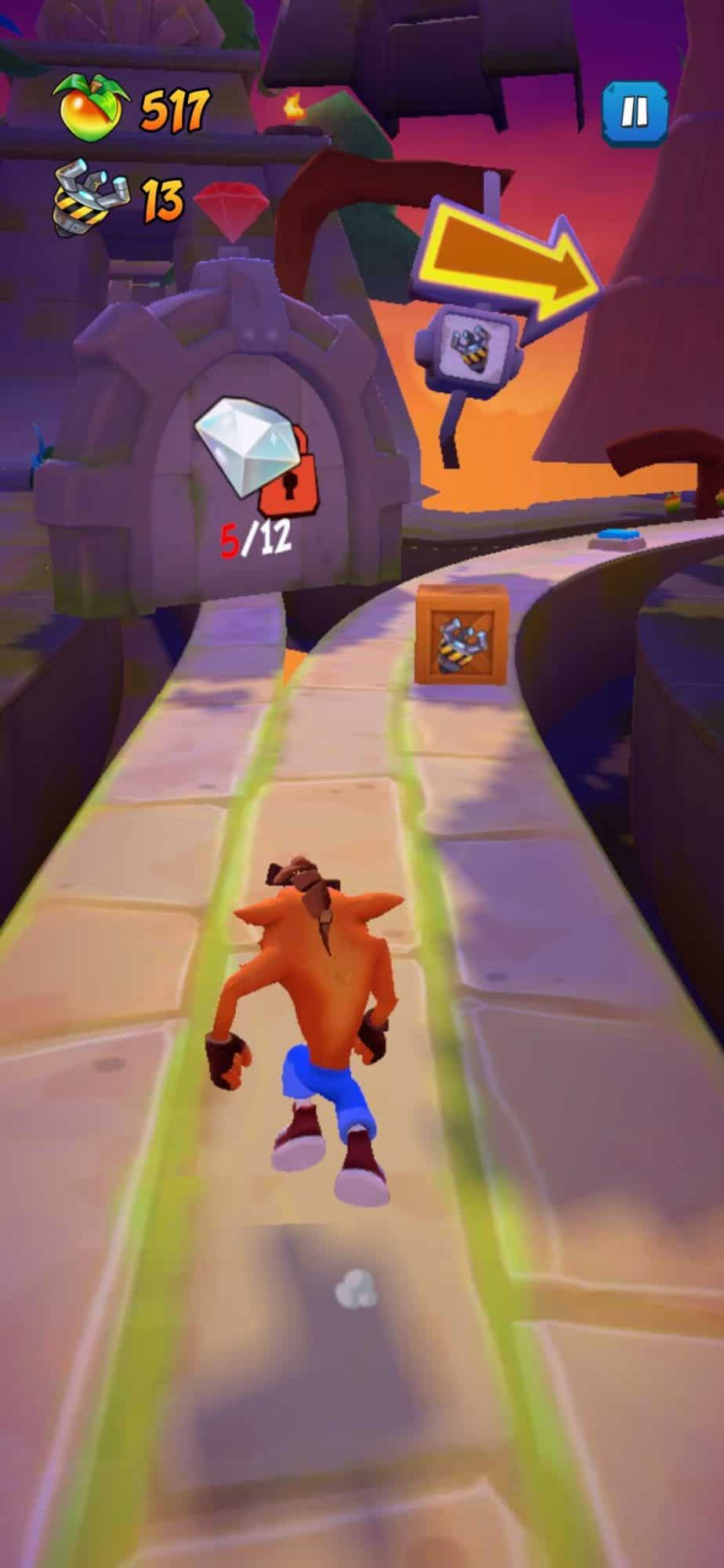Crash Bandicoot Mobile easter egg level