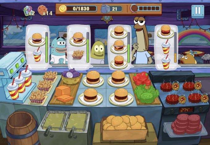 Spongebob Sfida al Krusty
