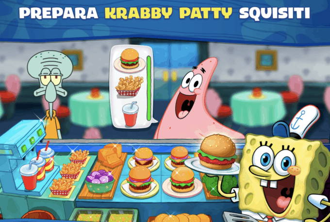 Spongebob gioco ios android