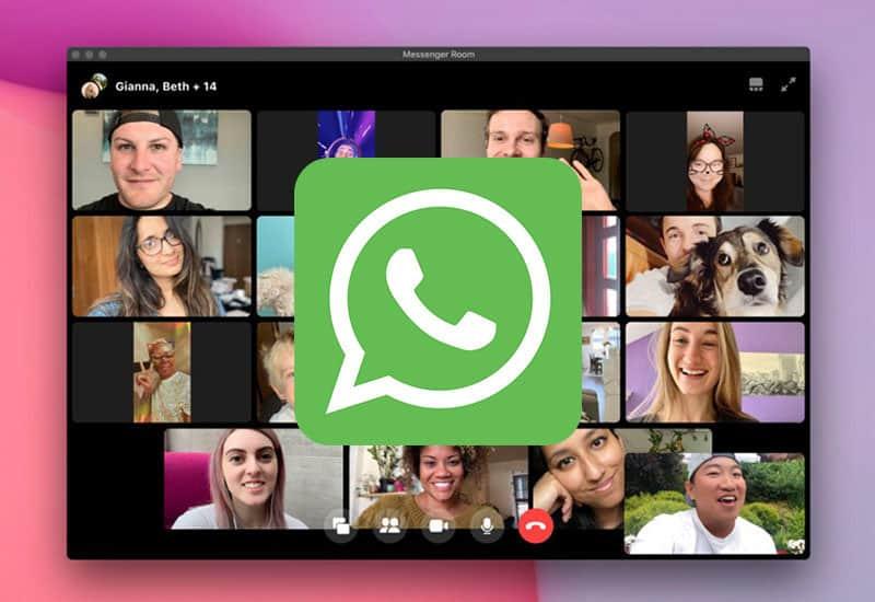 WhatsApp: arriva la nuova funzione Messenger Rooms