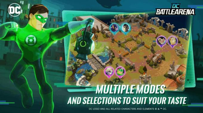 DC Battle Arena è un simpatico MOBA con eroi DC. Download APK (Beta)