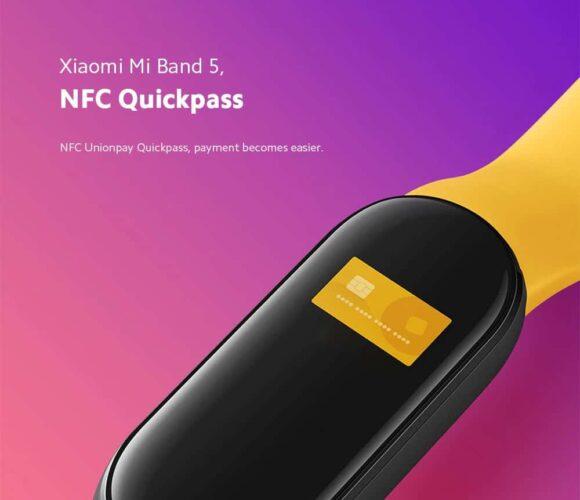 Xiaomi Mi Band 5: ufficialmente presentato con NFC, ricarica magnetica e altre novità