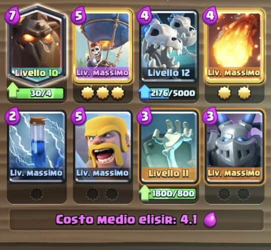 Clash Royale Deck Pescatore