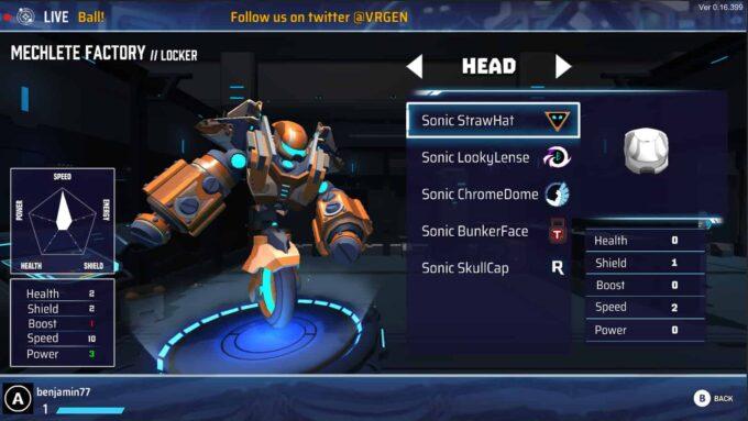 Smash Ball robot
