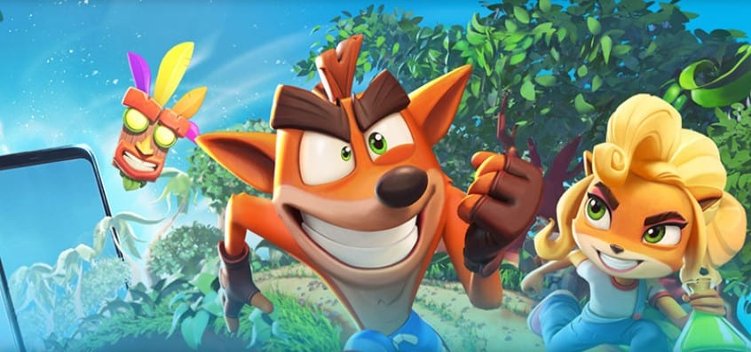 Crash Bandicoot On the Run: ora disponibile la pre-registrazione iOS e Android con Skin Esclusiva