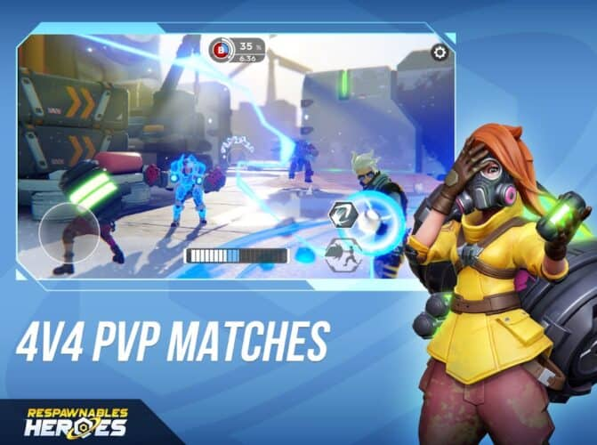 Respawnables Heroes è un Overwatch 4vs4 in accesso anticipato