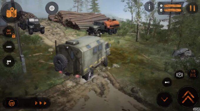 L'incredibile simulatore fuoristrada MudRunner arriva su Mobile il 15 Luglio! iOS e Android