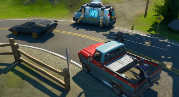 fortnite veicoli