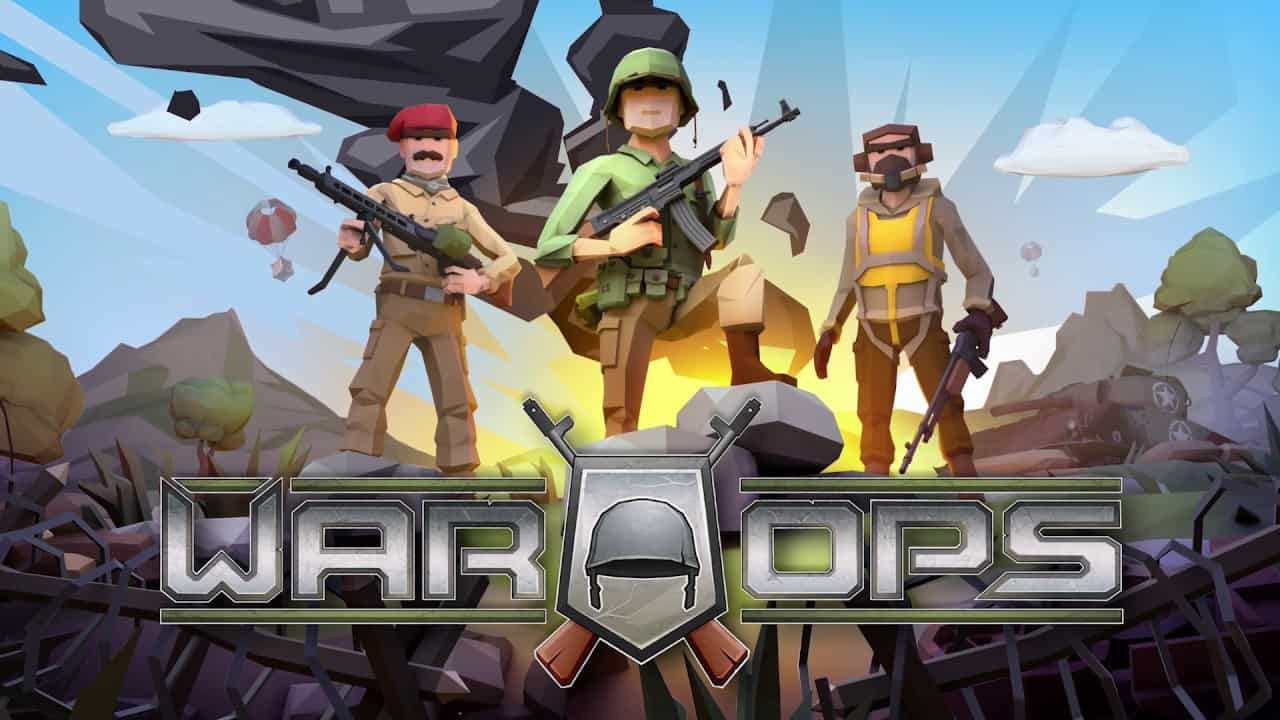 War Ops: WW2 è uno sparatutto PVP con grafica poligonale! Download