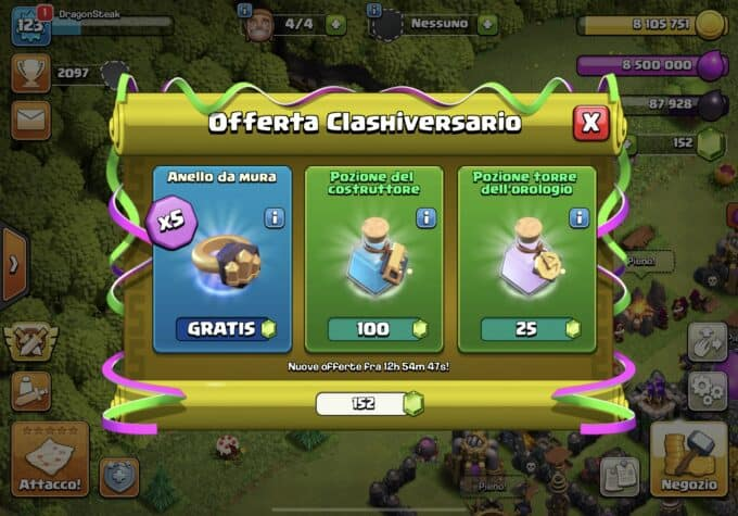 mercante clash of clans