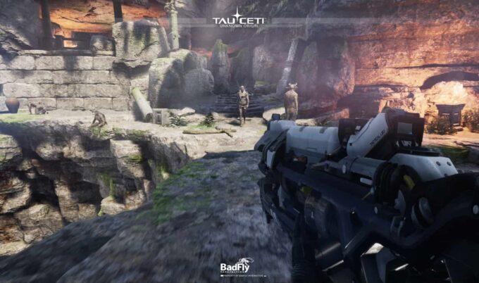 Grafica del futuro dei giochi mobile? Con TauCeti potete testare un sci-fi FPS! Demo iOS e Android