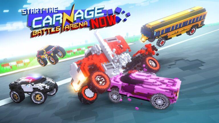 Carnage: Battle Arena è un'autoscontro tutto a pixel!