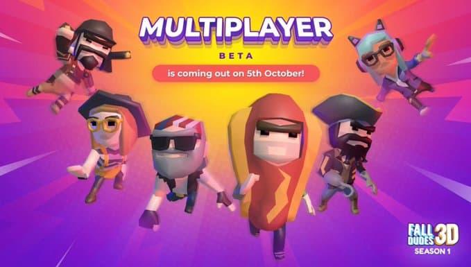 È ufficiale, arriva il Multiplayer su Fall Dudes 3D! Ecco la Data!