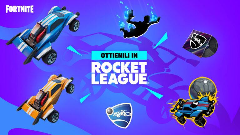 Fortnite x Rocket League – l'evento crossover finalmente disponibile