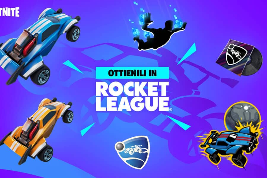 Fortnite x Rocket League – l'evento crossover finalmente disponibile