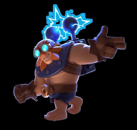 clash royale gigante elettrico
