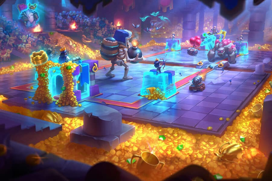 Clash Royale Season 17 - Tesori dell'antico Re - Nuova Arena Tomba Reale