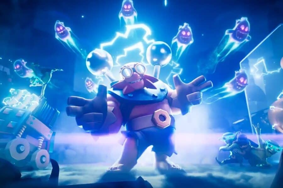 Clash Royale: Ecco la 100esima Carta Gigante Elettrico! Trailer Video ufficiale Supercell