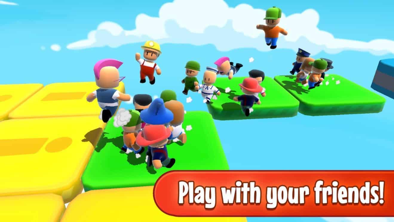 Strumble Guys è un ottimo nuovo clone Multiplayer mobile di Fall Guys