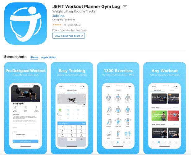 App per allenarsi