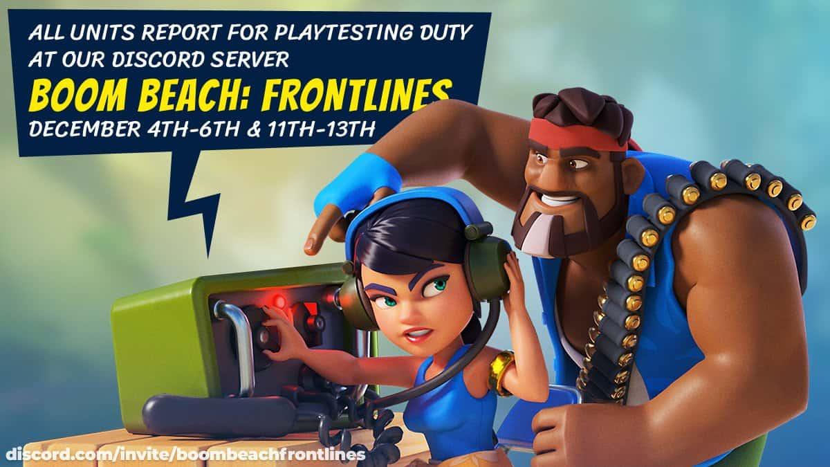 Boom Beach Frontlines su Android non sarà vicino