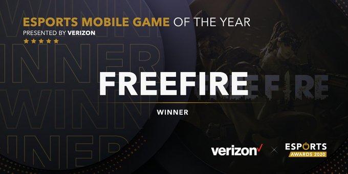 Free Fire VINCE come miglior Gioco Mobile eSport 2020!