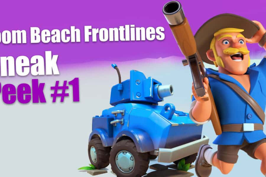 Boom Beach Frontlines Sneak Peek #1