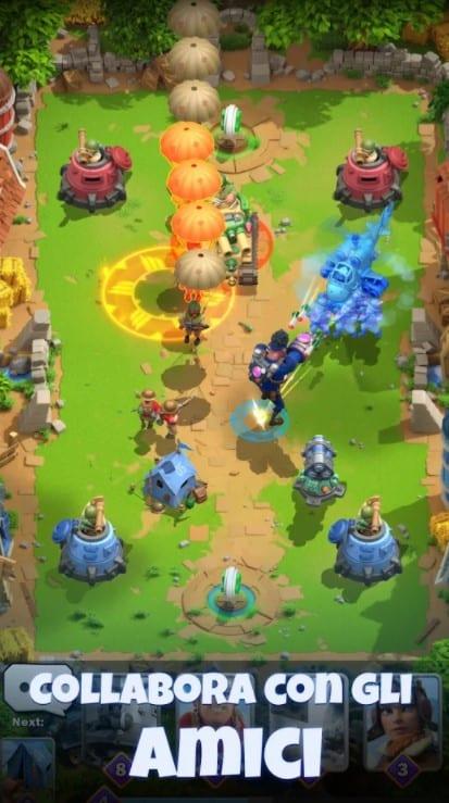 War Alliance è un PVP Arena ora rilasciato globalmente per iOS e Android