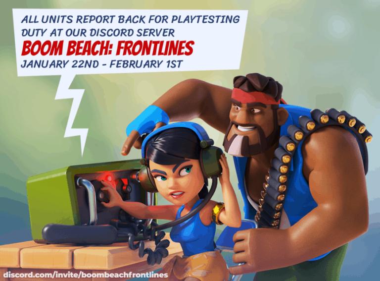 Boom Beach Frontlines avvia il terzo alpha-test e nuovi sneak peek