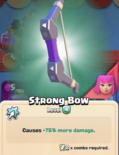 Clash quest strong bow