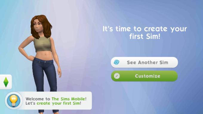 the sims simulazione mobile smartphone sim