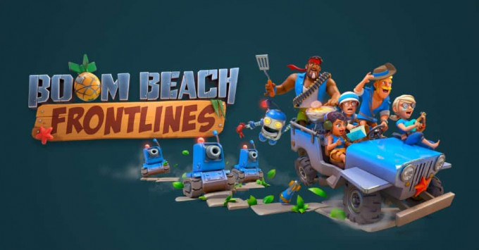 boom beach frontlines soft launch