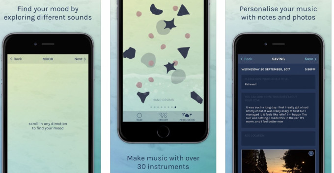 Cove music top 5 app ios