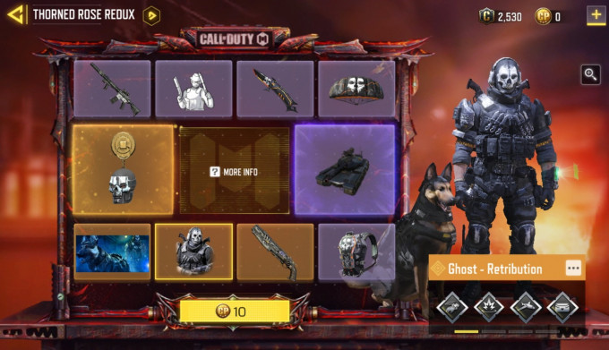 Call of duty mobile stagione 5 in deep water ghost