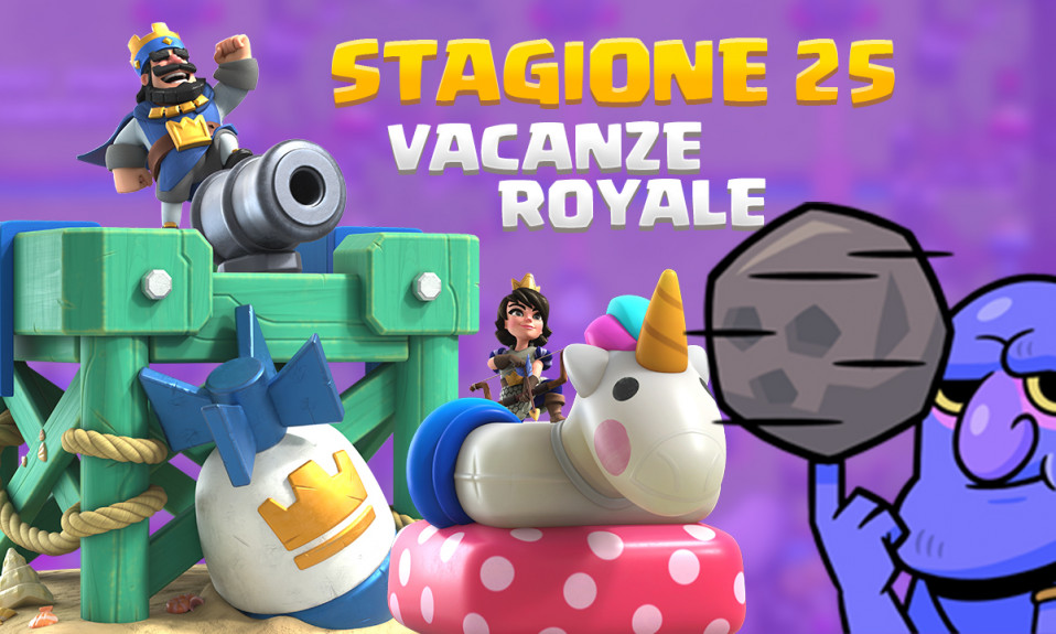 STAGIONE 25 - Vacanze Royale