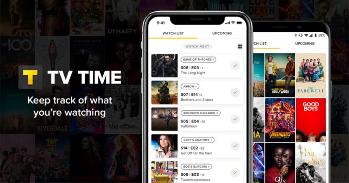 tv time app film serie tv anime social