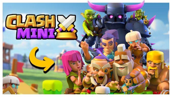 clash mini mini minute supercell